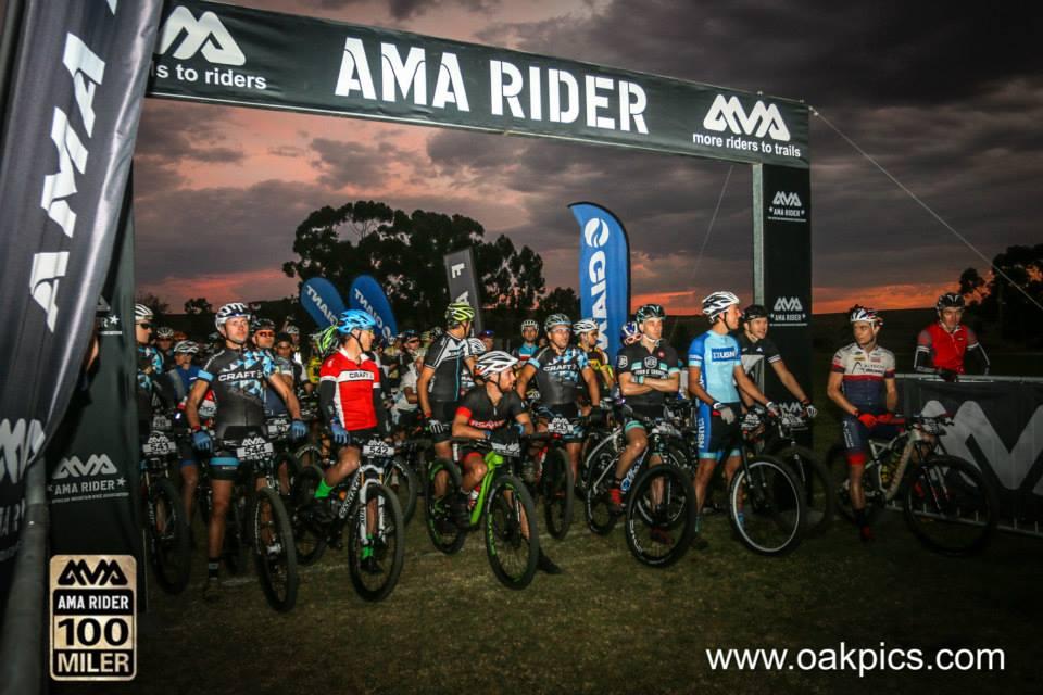 AMA Rider 100 Miler